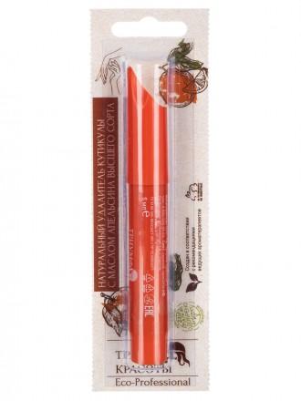 Карандаш «Триумф Красоты» натуральный удалитель кутикулы с маслом апельсина и витаминами (на подложке) АПЕЛЬСИН